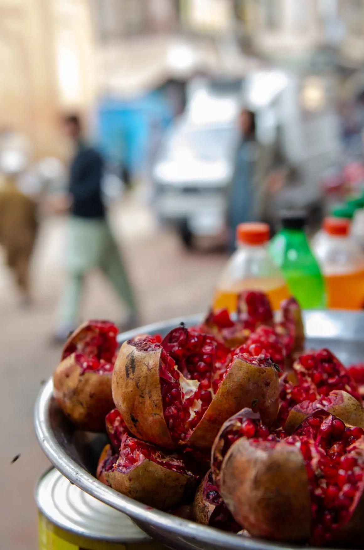 Granaatappel in Pakistan