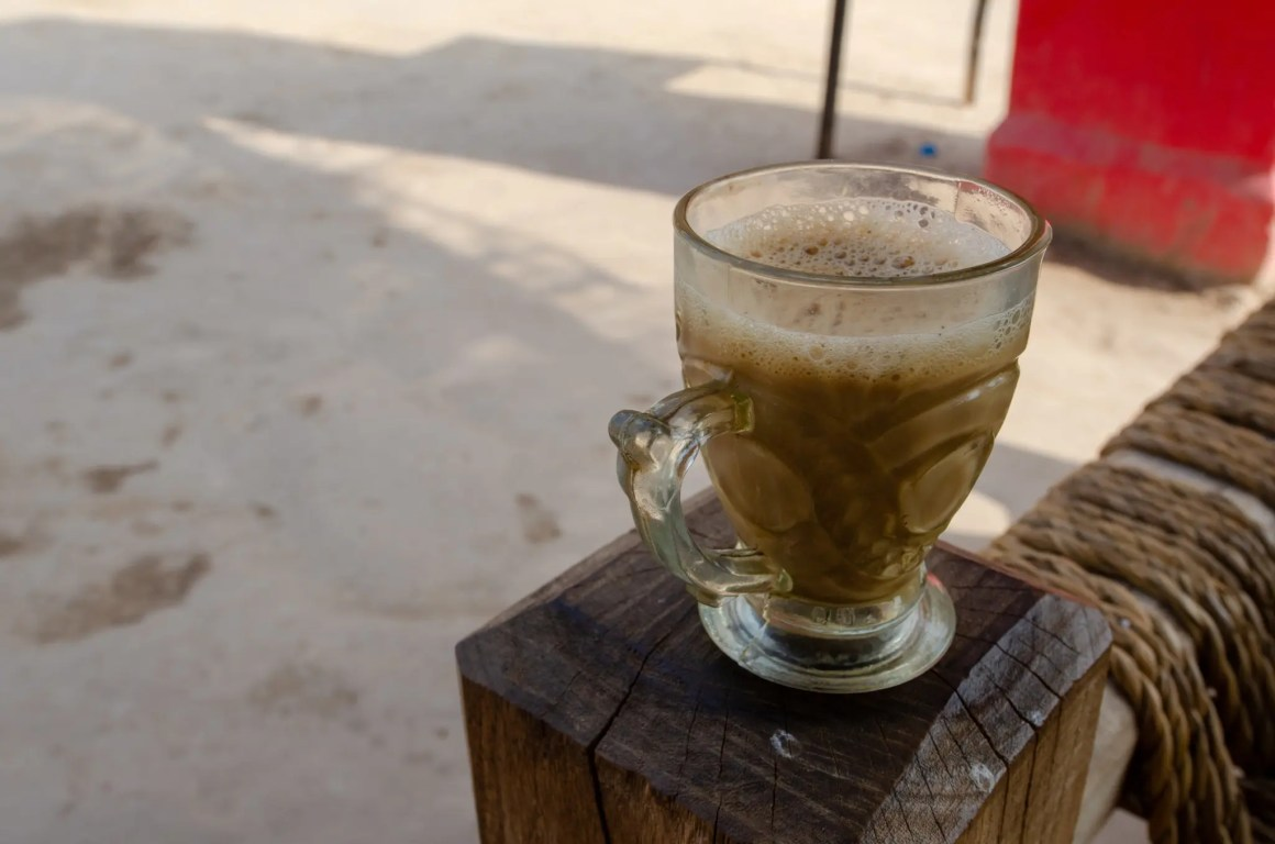 Typische thee in Pakistan