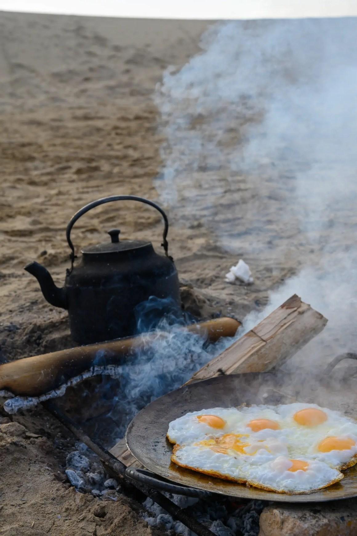 Eieren Varzaneh Desert