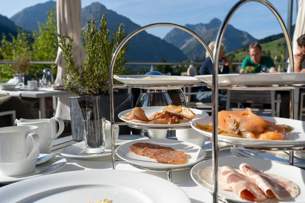 Ontbijt in het Hotel Ifen