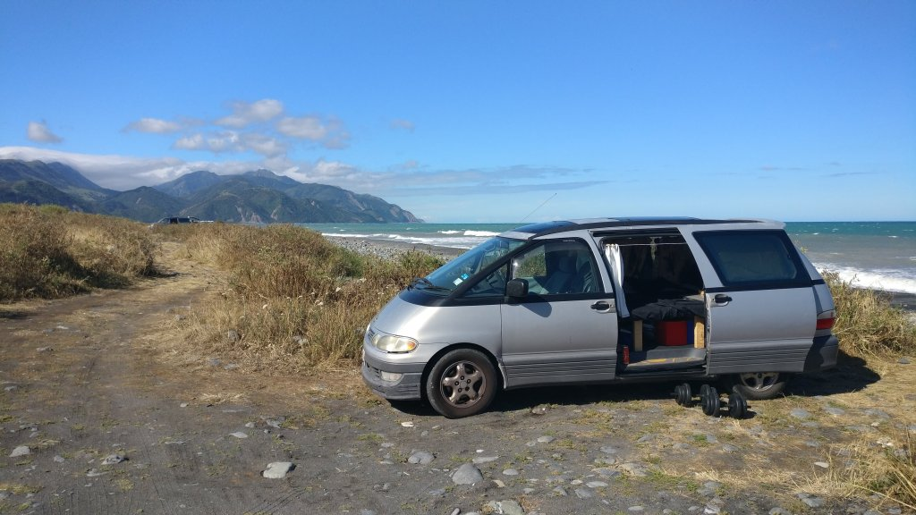 My Campervan in Kaikoura