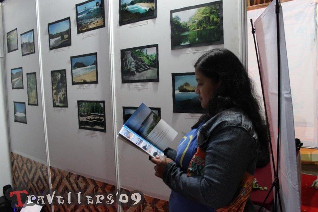 D'Travellers Numpang Pameran di Pekan Budaya Penataran 1