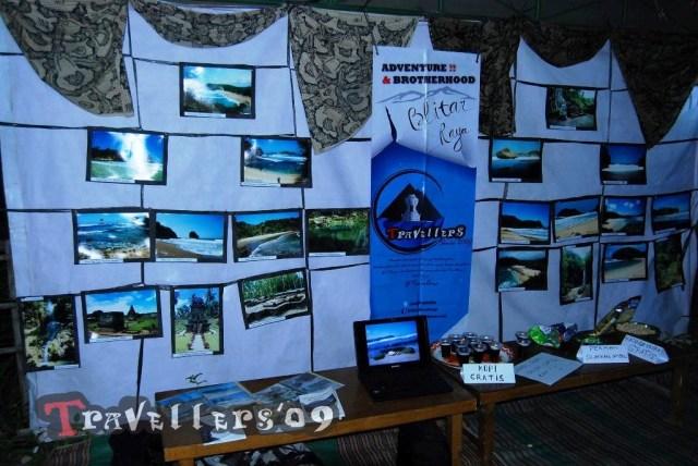 pameran travellers di bazar tulungsari kulon