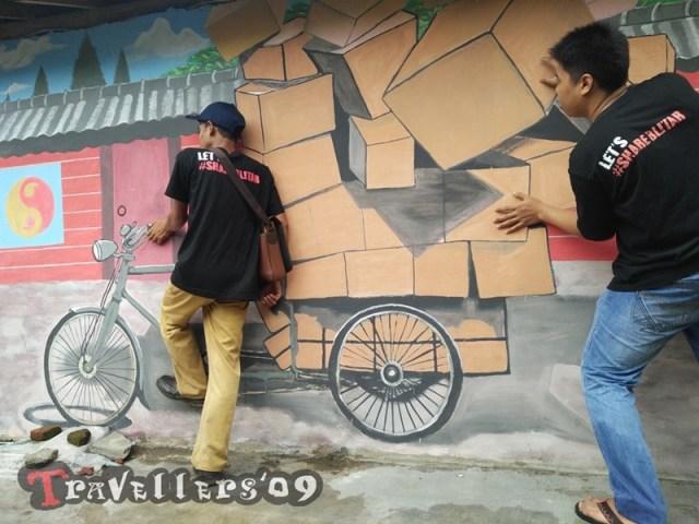 Kampung 3D Bongares, Kota Blitar 6