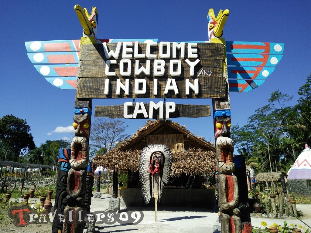 Cowboy and Indian Camp, Blitar 1