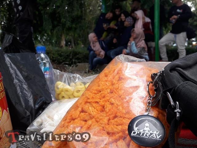 Halal bi Halal DTrav 2019 sambil Bercengkrama di Waduk Wlingi Raya 3
