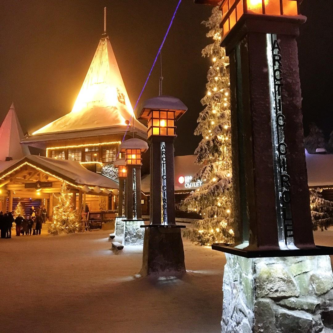 Santa Claus village