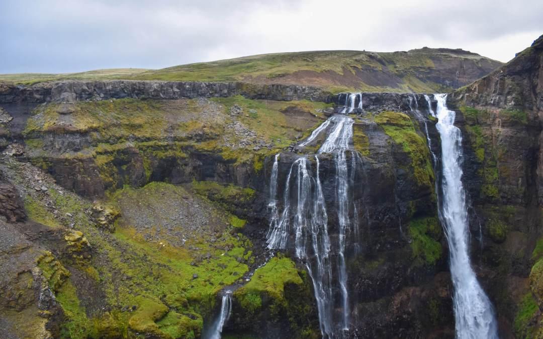 Πεζοπορία στα φαράγγια της Δυτικής Ισλανδίας: Ο καταρράκτης Glymur
