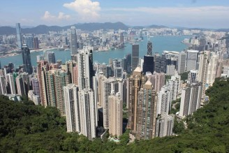 hong kong in three days, hong kong island, victoria peak, symphony of lights