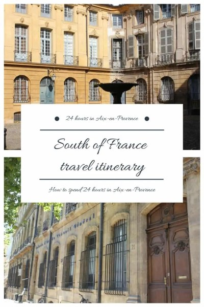 South of France travel itinerary - 24 hours in Provence, including places to stay, eat and best day trips
