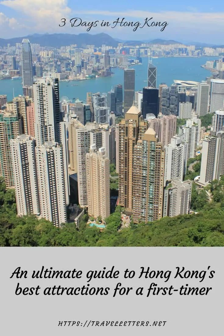 An ultimate guide to 3 days in Hong Kong for a first-timer. A perfect 3 day itinerary to visiting Hong Kong