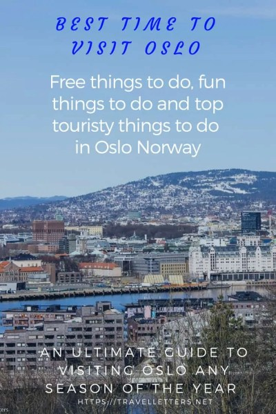 An ultimate guide to free, fun and touristy things to do in Oslo Norway in any season