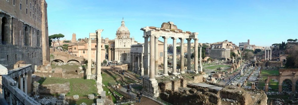 The Roman Forum, things to do in Rome, St. Peter's Square, St. Peter's Dome in Rome, visit Rome in winter, Rome in winter, winter in Rome, Vatican city, 2-3 days Rome itinerary