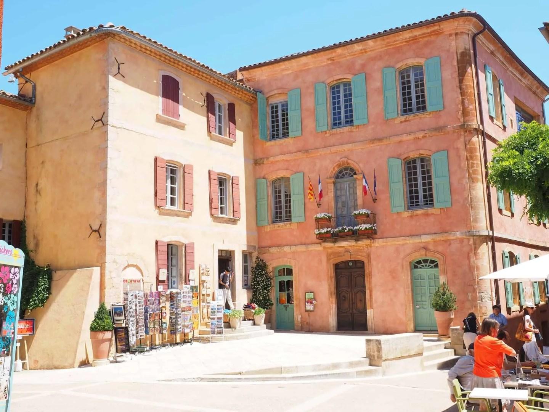 Roussillon Provence, steder å besøke i Provence, ting å gjøre i Provence.