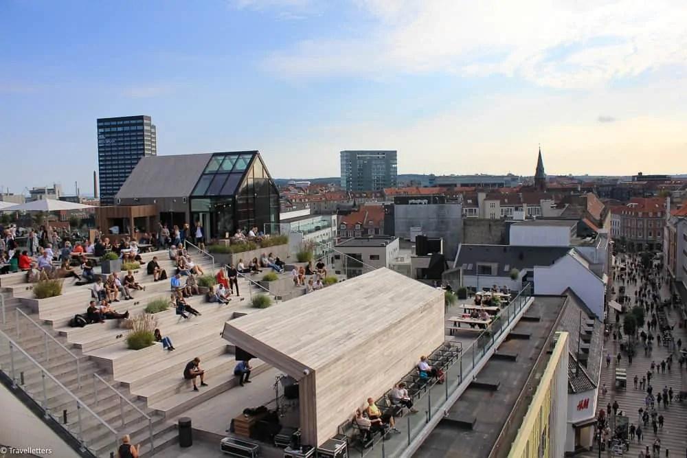 ting å gjøre i Aarhus, storbyferie i europa, langhelg i europa, storbyweekend i europa, danmark, europeisk storby, helgetur til europa, storby i europa, kjærestetur til europa, jentetur til europa,Salling ROOFTOP