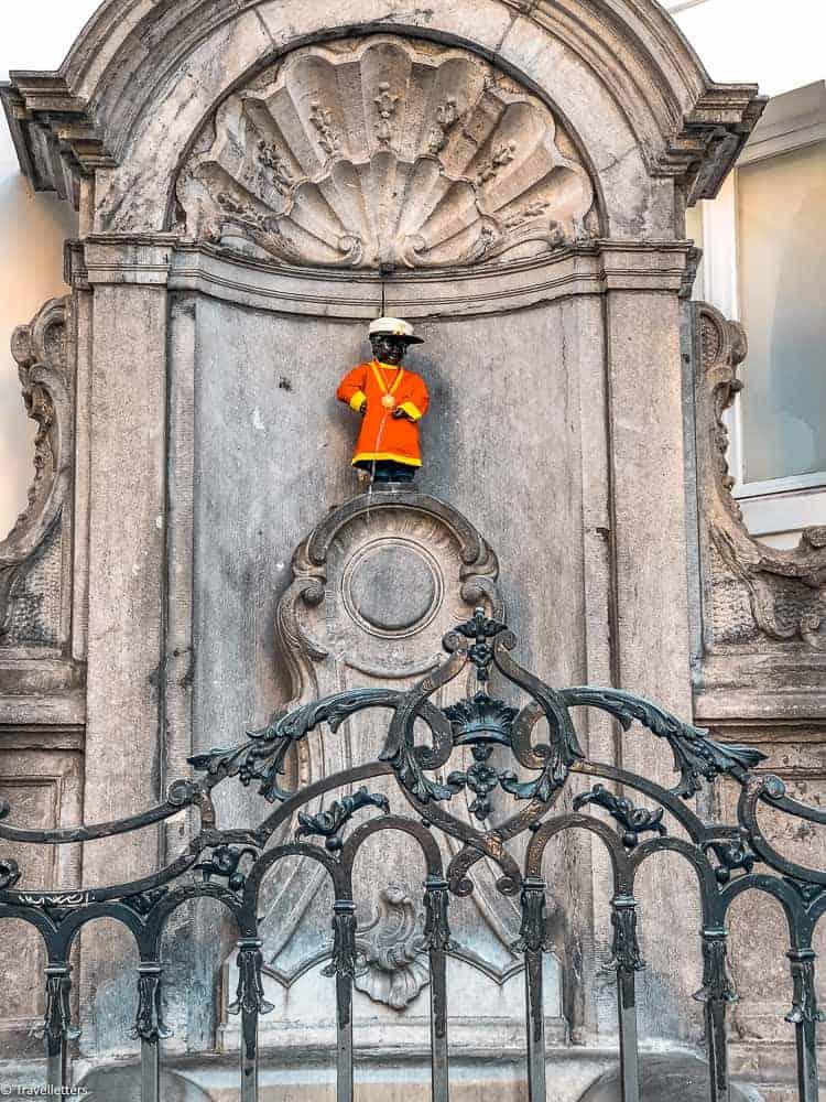 Manneken Pis i Brussel