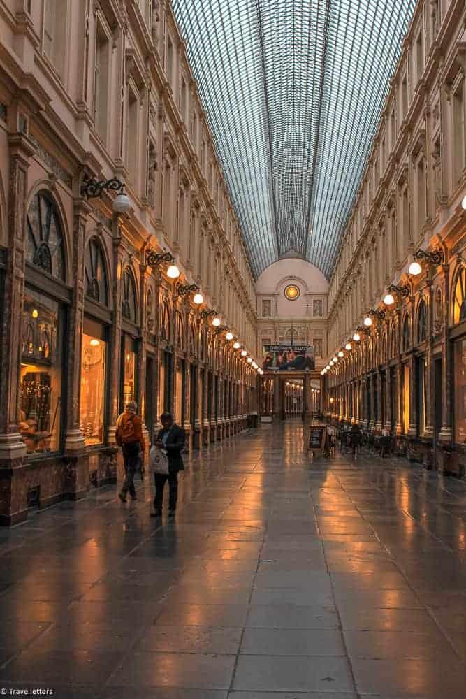 Galeries Royales Saint-Hubert i Brussel