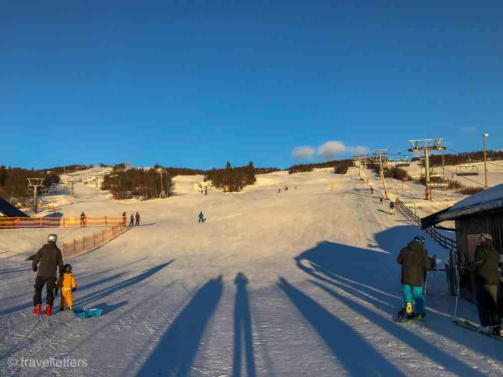 Norwegian mountains, Beitostølen, ski resort Norway, Norway in winter, winter in Norway