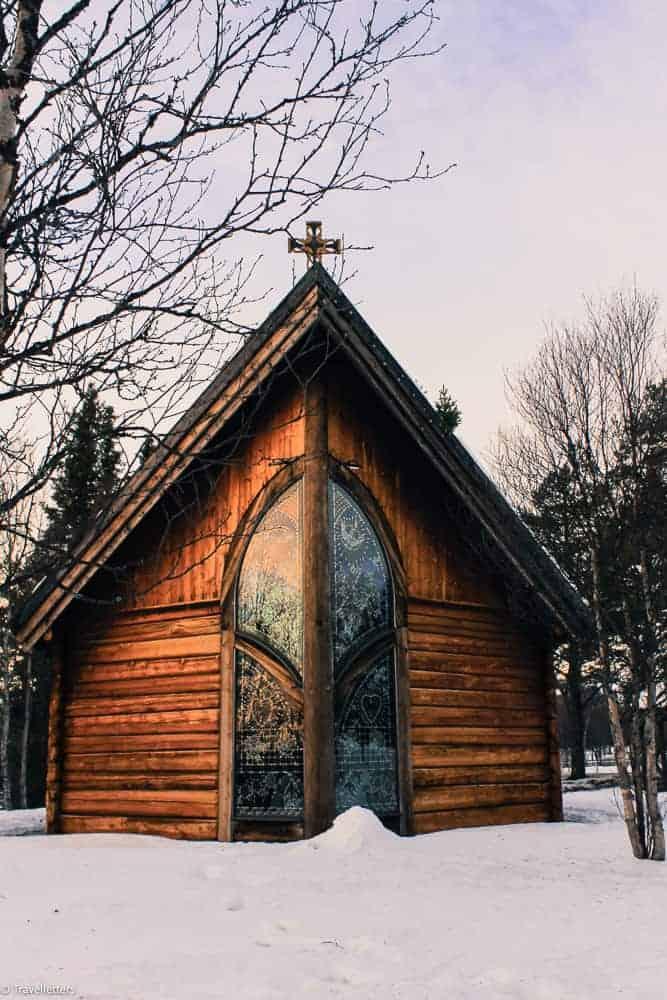 The Chapel of Lights, Norway in winter, Beitostølen ski resort Norway