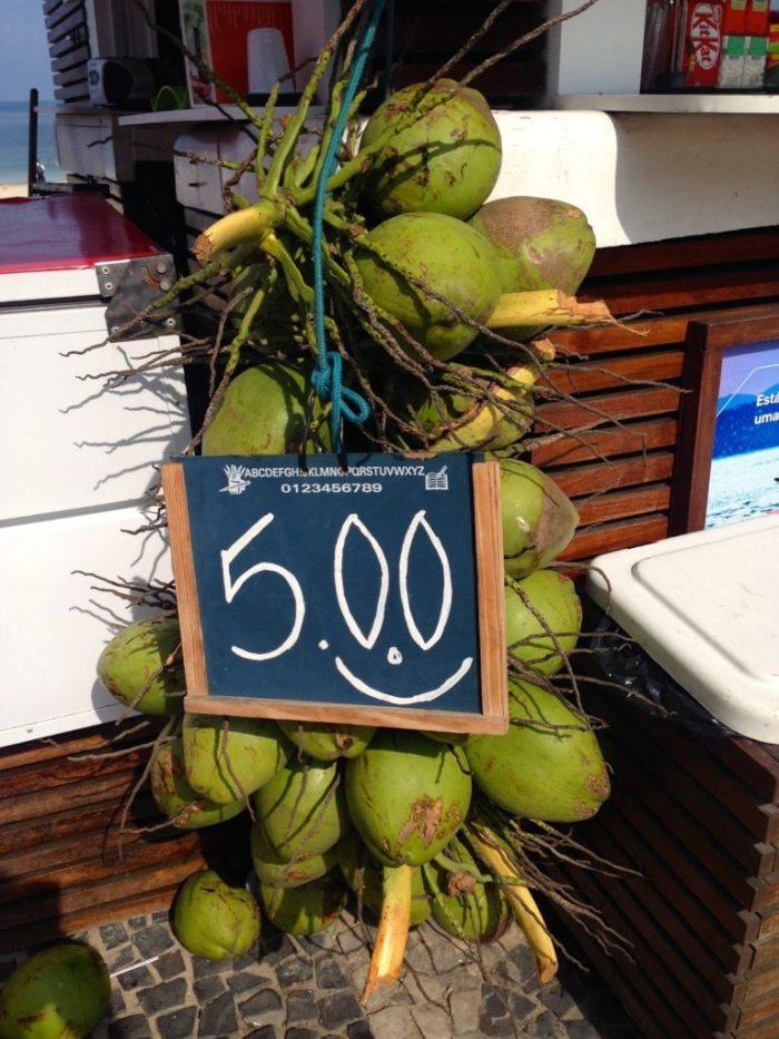 Coconuts A$2.50