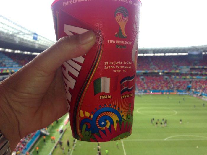 Brahma souvenir cup Italy v Costa Rica