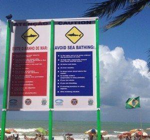 Warning: sharks attacks
