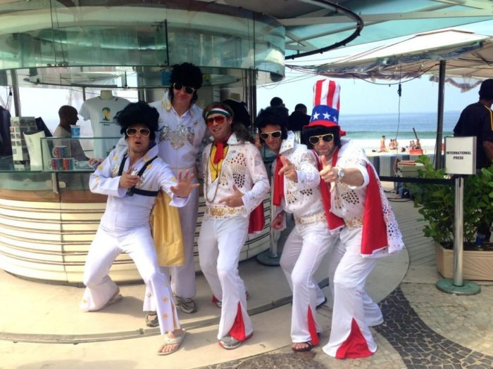 Elvis x5 in Rio