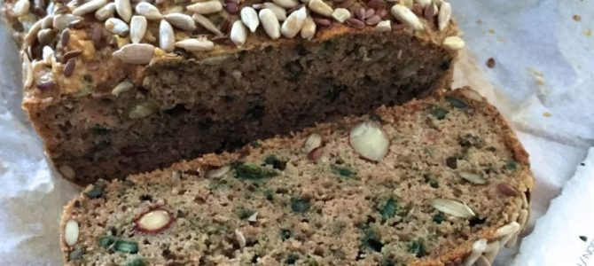 Paleo seed and nut bread recipe by Pete Evans