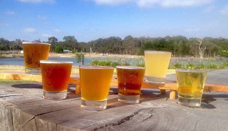 Best breweries for lunch in Margaret River