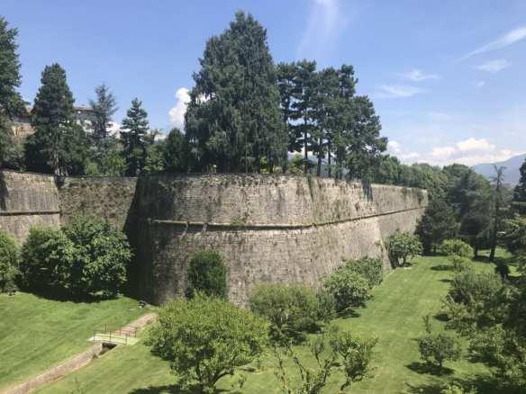 Bergamo walls