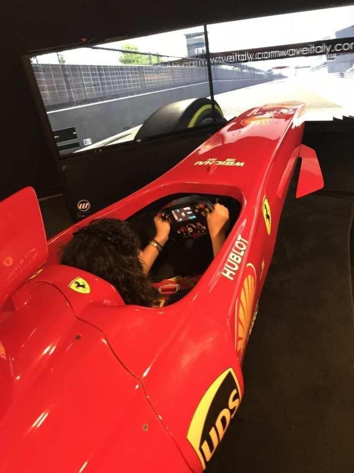 F1 simulator Maranello