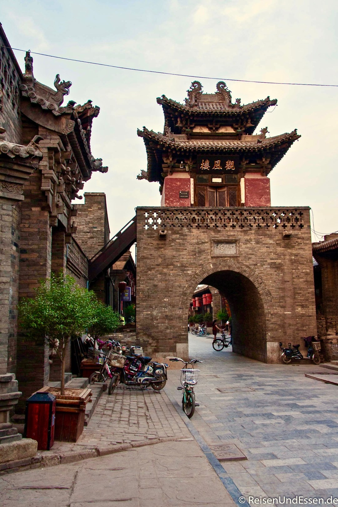 China Pingyao Stadttor 257