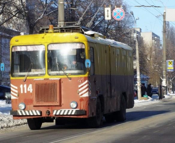 черниговский троллейбус
