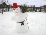 снеговик Скорпиона