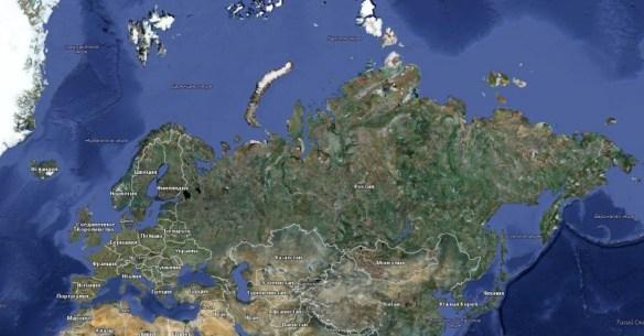 виртуальное путешествие по Евразии