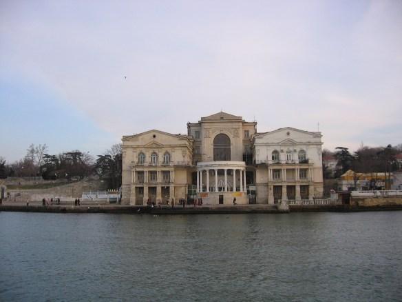 прогулка на кораблике на Радиогорку, Севастополь