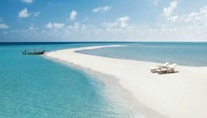 Мальдивы - необитаемый остров