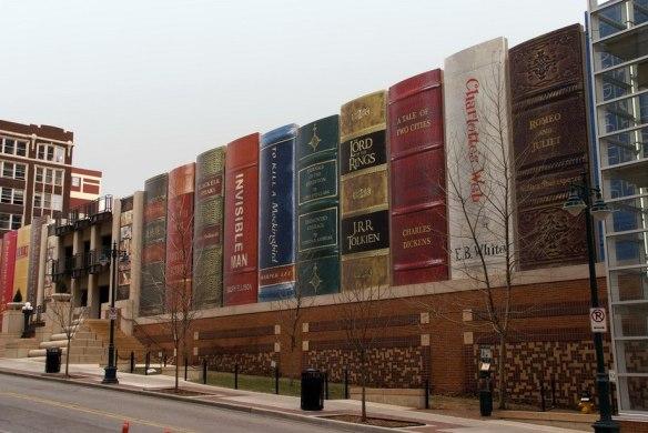 Публичная библиотека в Канзас-Сити, США.