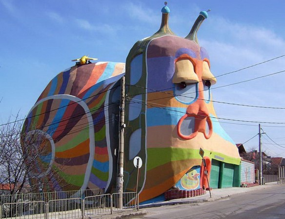 Snail House в Софии, Болгария