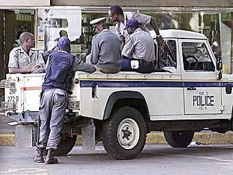 полиция в Зимбабве