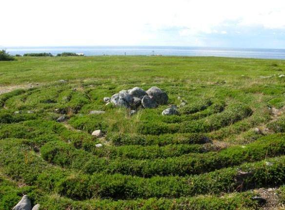 лабиринт на заяцком острове