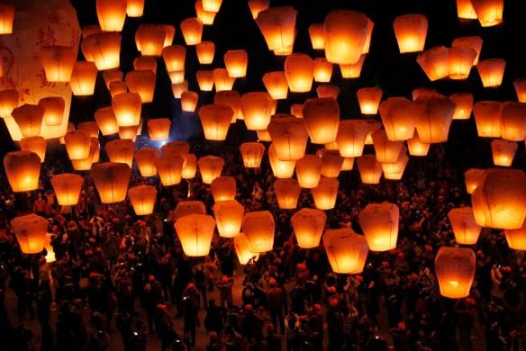 Фестиваль фонарей в Таиланде