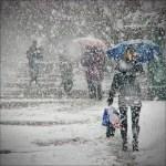 Мартовская непогода 2013 года (в Киеве – снег, в Сочи – шторм)