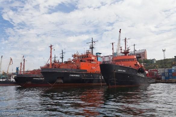 флот во Владивостоке