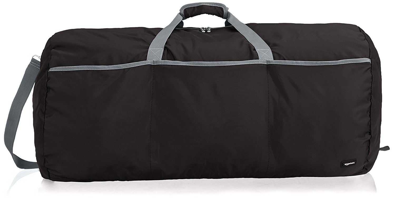 AmazonBasics - Seesack/Reisetasche, groß, 98 l, Schwarz