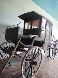 Antique Horse Carriage 4 in Museum Kasultanan Surakarta