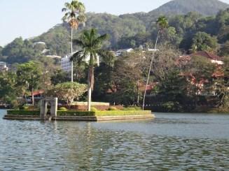 Island In Middle Of Bogambara Lake