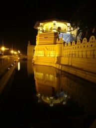 Temple Of The Tooth At Night