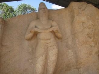 Maha Parakramabahu Statue