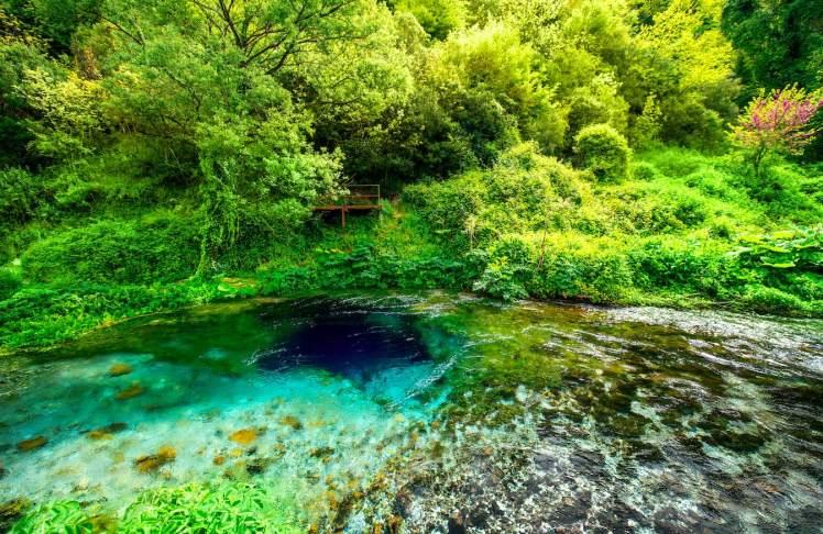 Het Blauwe Oog, Zuid-Albanië